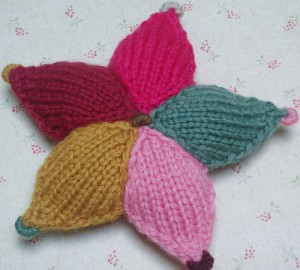 Free Multicolored Star Knitting Pattern Images