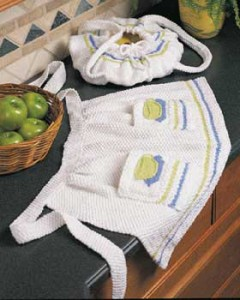 Free Teacup Half Apron Knitting Pattern Images