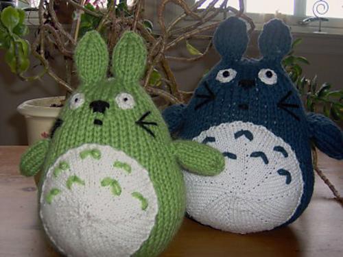 Totoro Knitting Pattern A Knitting Blog