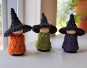 Halloween Witches Knitting Patterns Pictures