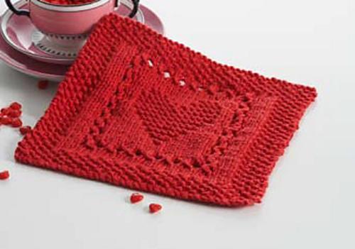 Heart Knitting Pattern A Knitting Blog