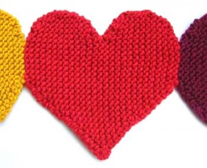 Heart Knitting Pattern Pictures
