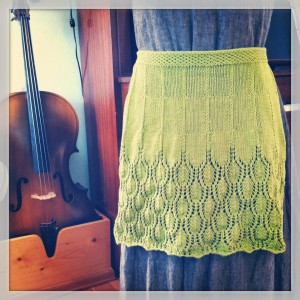 Photos of Knitted Apron Patterns