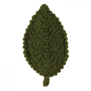 Knitted Elm Leaf Patterns Photos