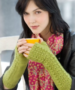 Lettuce Knit Arm Warmer Pattern Images