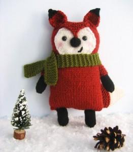 Little Fox Amigurumi Knittting Pattern Pictures