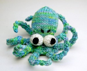 Pictures of Octopus Amigurumi Knitting Pattern