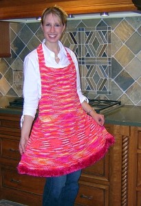 Party Apron Knitting Pattern Pictures
