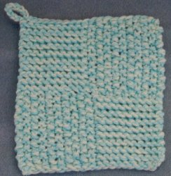 Free Quick Knit Pot Holder Pattern Images