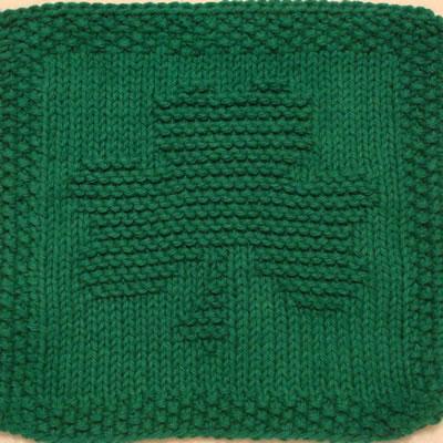 Shamrock Knitting Pattern A Knitting Blog
