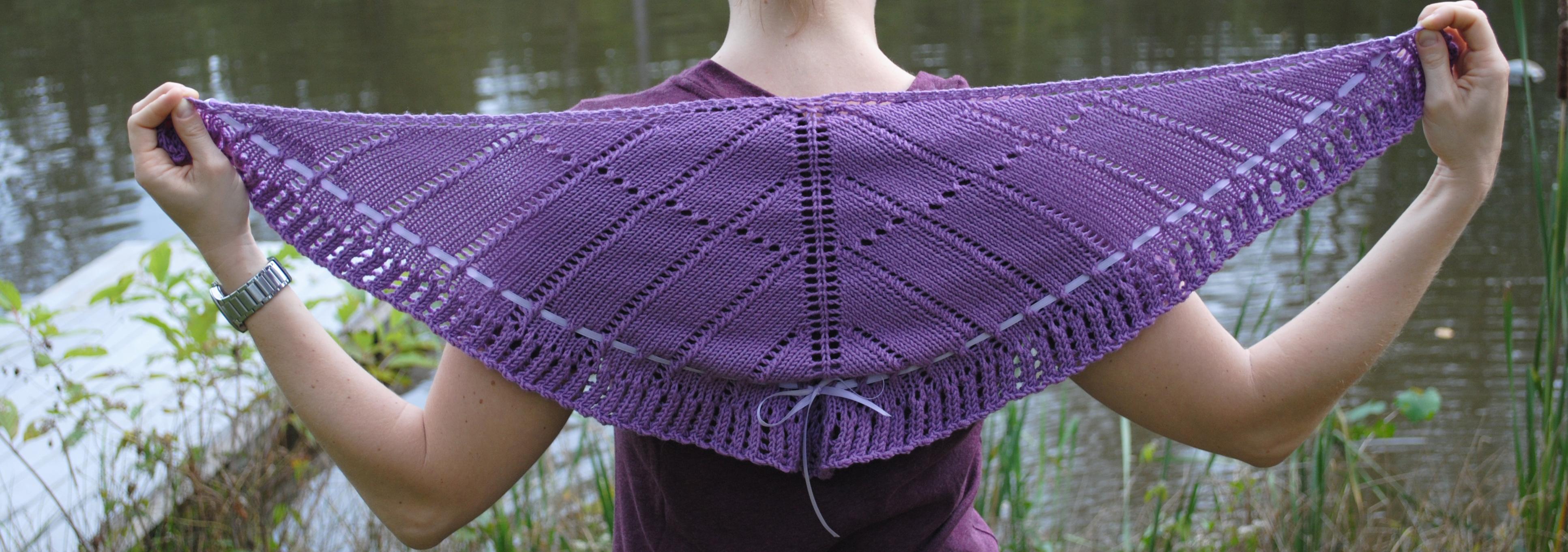 Shawlette Knitting Patterns | A Knitting Blog