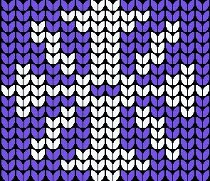 Snowflake Knitting Pattern Images