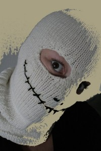 Spooky Balaclava Knitted Patterns Photos