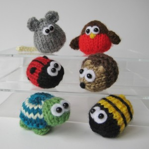 Teeny Toy Animal Knitting Patterns Pictures