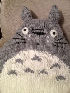 Totoro Cushion Knitting Pattern Images