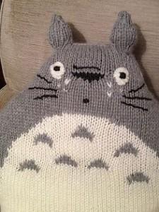 Totoro Cushion Knitting Pattern Images