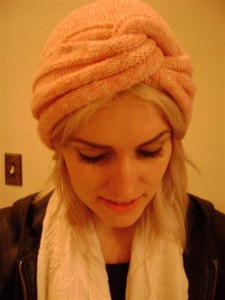 Pictures of Turban Knitting Pattern
