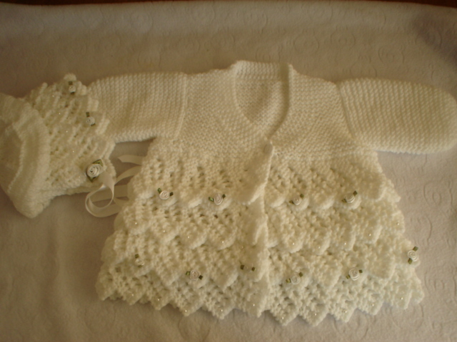 Knitted Baby Clothes Pattern A Knitting Blog