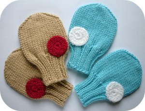 Baby Mittens Knitting Pattern Pictures