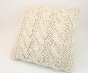 Cable Knit Pillow Cover Patterns Images