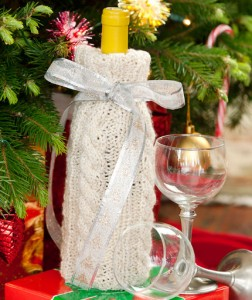 Free Cable Knit Wine Bottle Cover Pattern Images