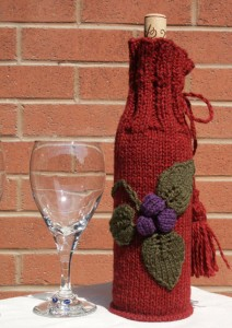 Free Knitted Wine Bottle Cover Patterns Pictures