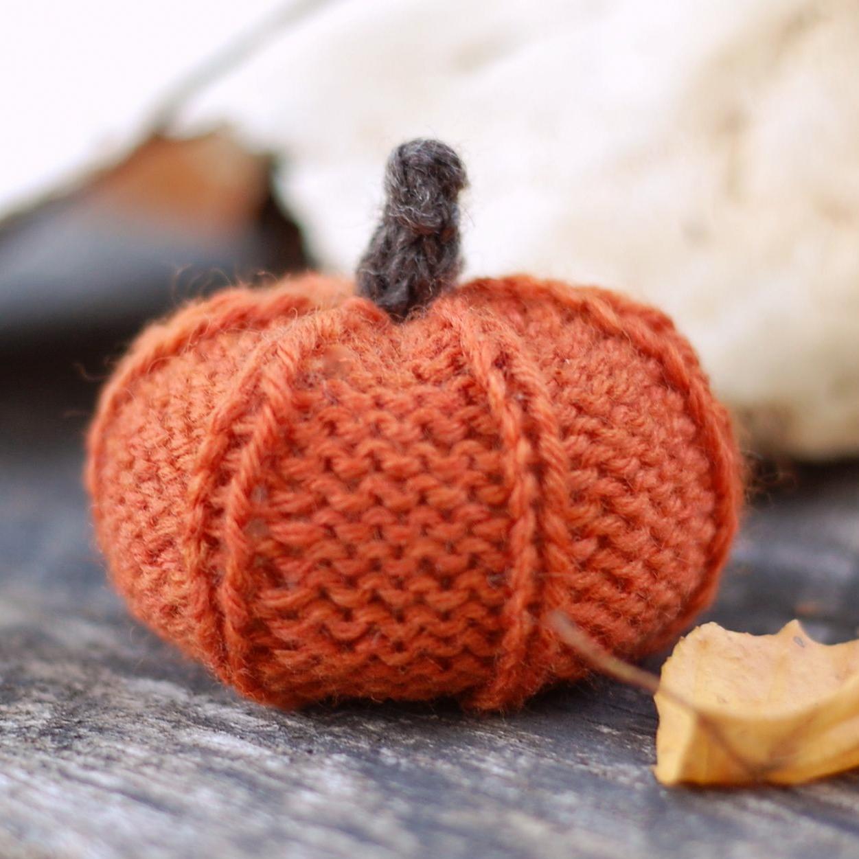 Knit Pumpkin Patterns - A Knitting Blog