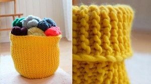 Knitted Basket Patterns Picture