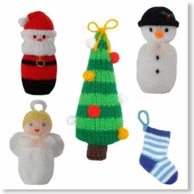 Knitted Christmas Ornament Patterns Pictures
