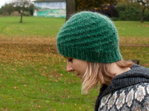 Photos of Knitting in the Round Hat Pattern