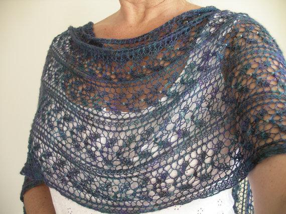 Lace Shawl Knitting Pattern - A Knitting Blog