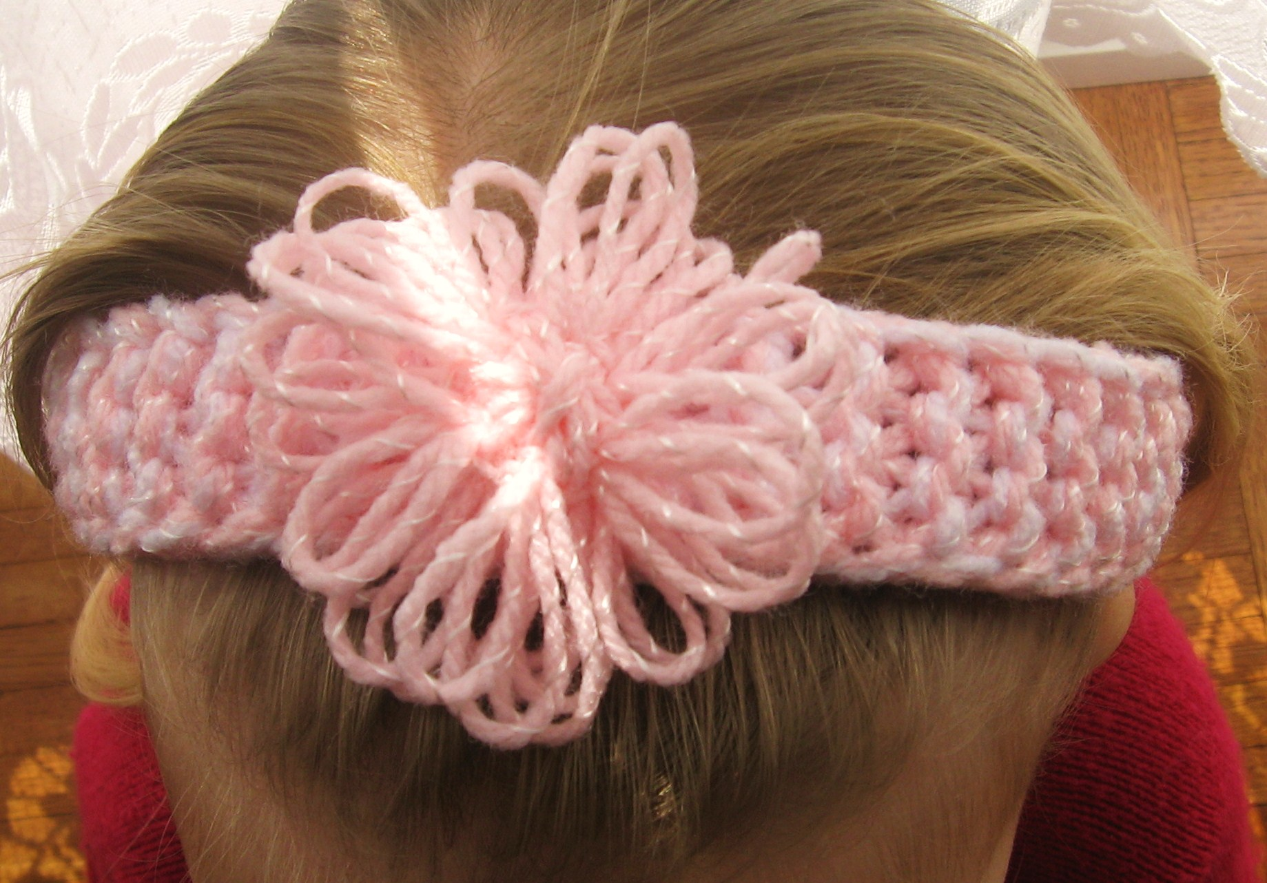 Knitting Flowers Design : Loom knit headband patterns a knitting
