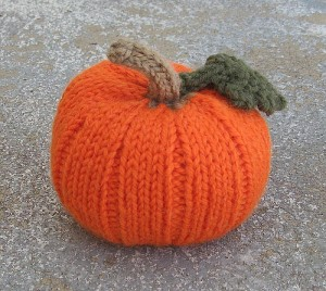 Pumpkin Knitting Pattern Pictures