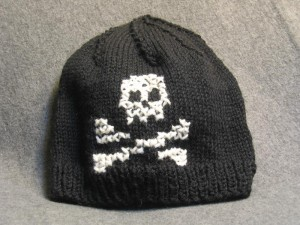 Skull Cap Knitting Pattern Photos