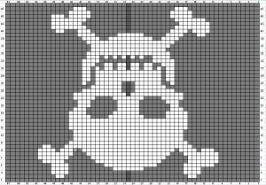 Skull Knitting Pattern Photos