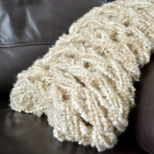 Arm Knit Blanket Pattern Photos