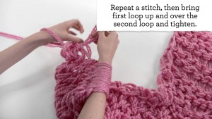 Arm Knit Chunky Cowl Pattern Pictures