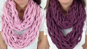 Arm Knit Infinity Scarf Cowl Pattern Images