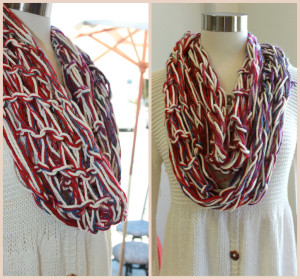 Pictures of Arm Knitted Scarf Pattern