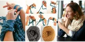 Pictures of Arm Knitting Blanket Step By Step