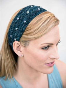 Beads Headband Knitting Pattern Images
