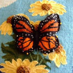 Pictures of Butterfly Knitted Pattern Tutorial