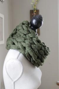 Photos of DIY Arm Scarf Knitting Pattern