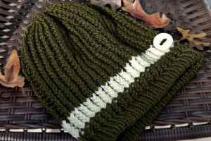 Pictures of Free Loom Knitted Slouchy Hat Pattern