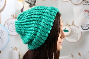 Free Loom Knitting Slouchy Hat Patterns Photos