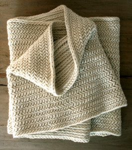 Herringbone Cowl Knitting Pattern Images