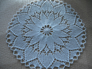 Knitted Lace Doily Pattern Pictures