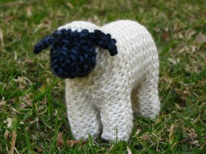Knitted Sheep Pattern Pictures