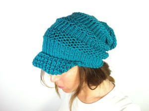 Images of Loom Knit Slouchy Hat Patterns Instruction