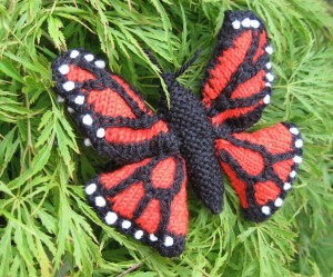 Images of Monarch Butterfly Knitting Pattern